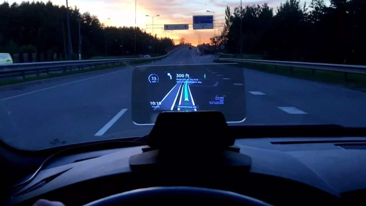 Why Head-Up Displays Are Today's Technology For The Future