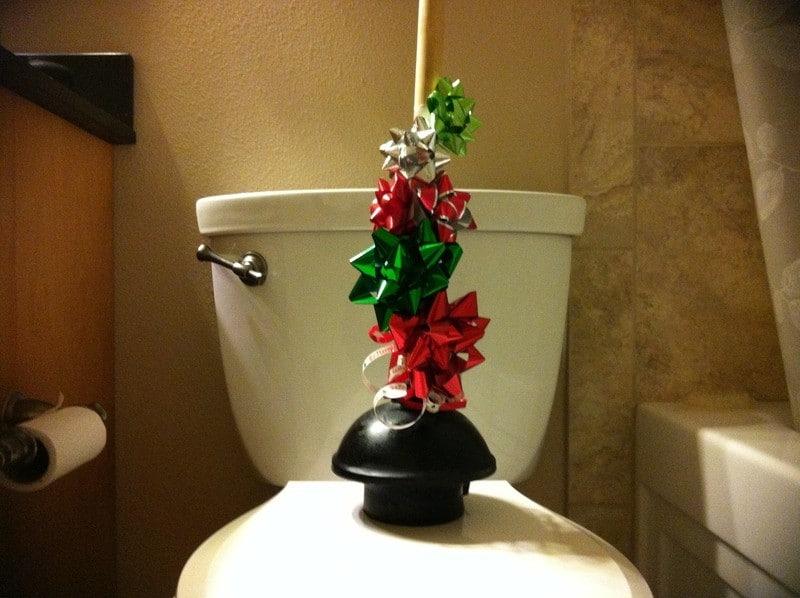 Plumbing Holiday Emergency Header Image
