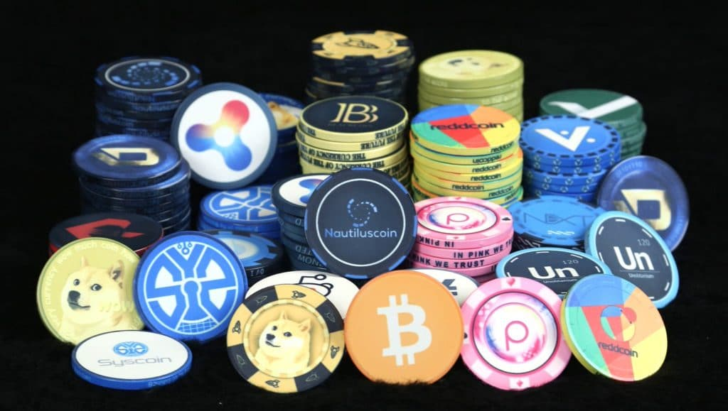 Betting Cryptocurrencies Coin Article Image