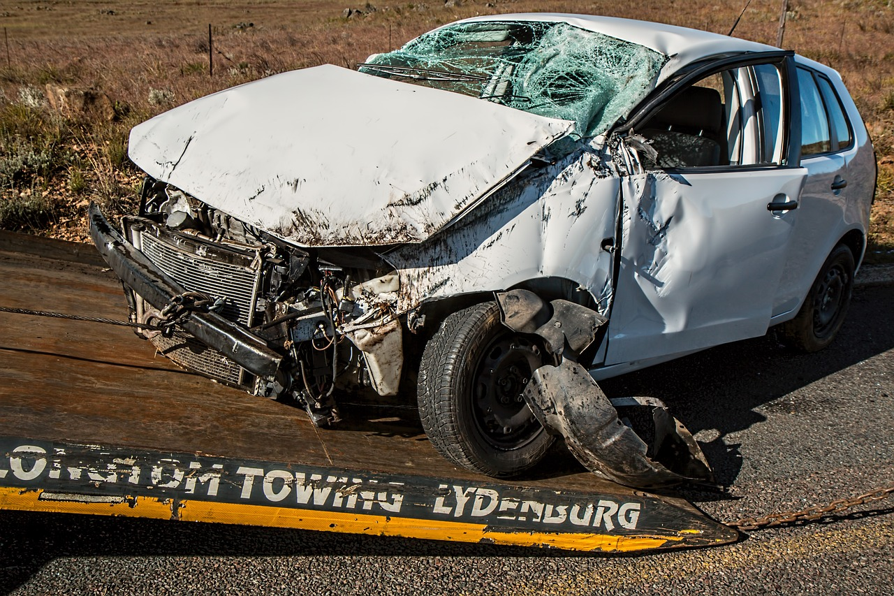 Car Accident Aftermath Header Image