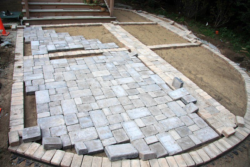 Get The Best Paver Patio With These Amazing Tips | Bit Rebels on Backyard Brick Pavers id=76316