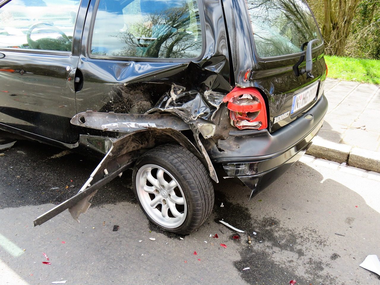 Claim Damages Car Collision Header Image