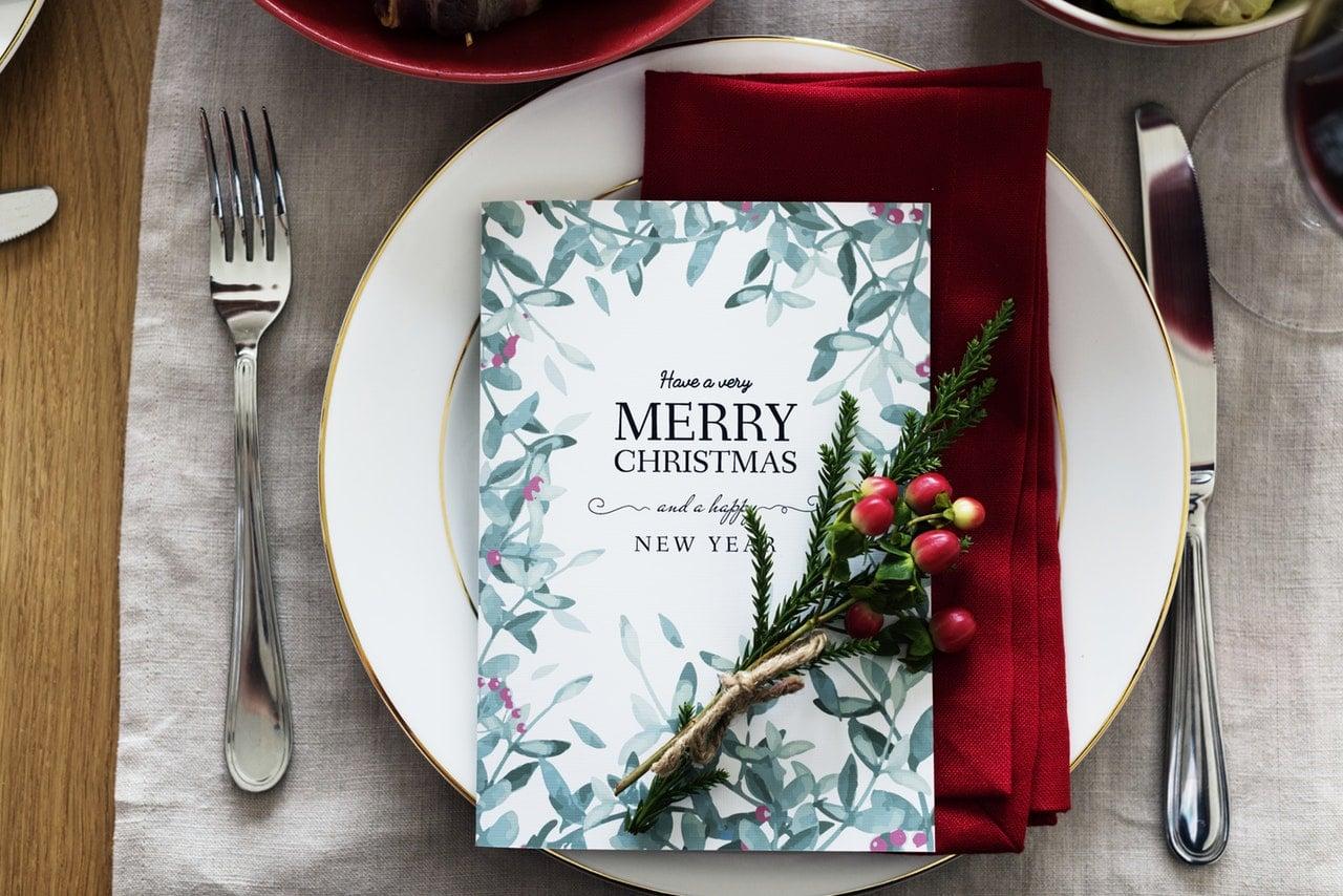 Finances Christmas Dinner Article Image