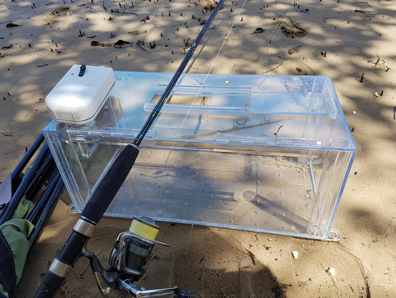 FishTrapper Baitwell Kickstarter Header Image
