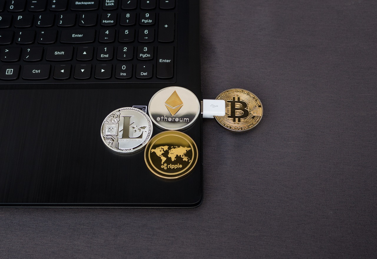 Mining Cryptocurrency Coins Header Image