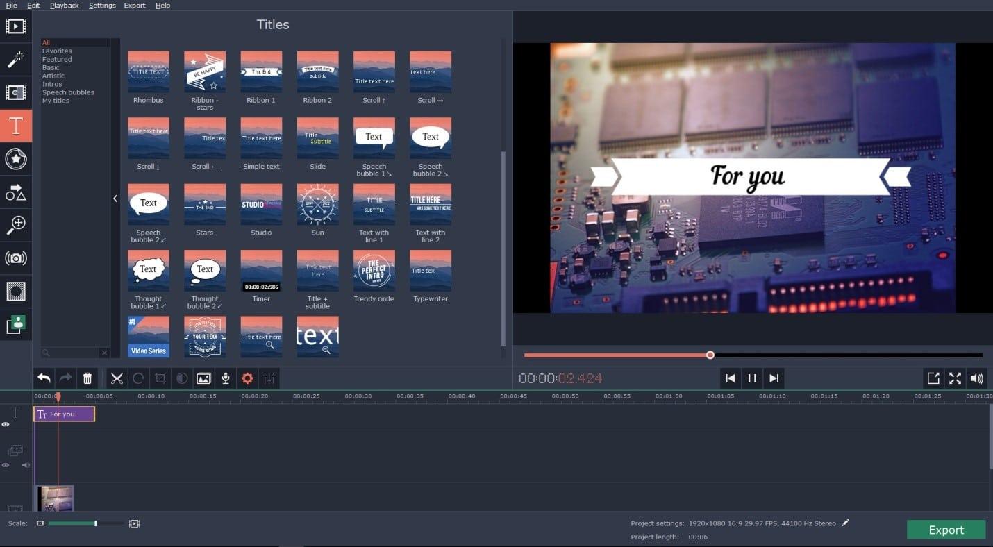 Movavi Video Editor Article Image