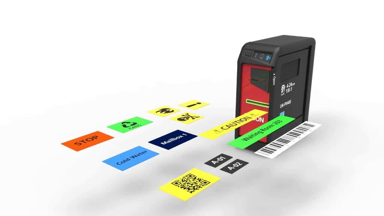 Epson Label Printer Header Image