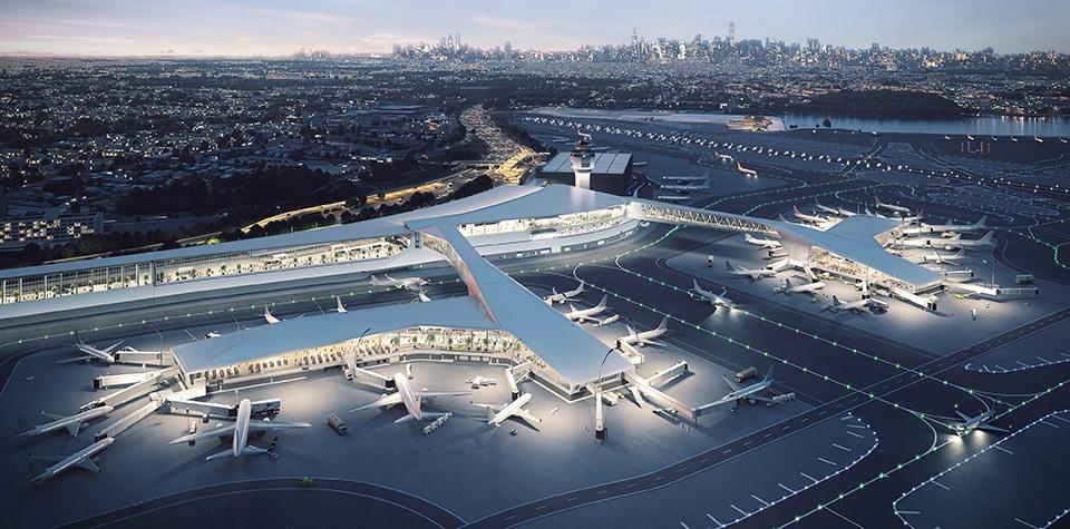 The Rebirth Of LaGuardia Airport – $8 Billion Futuristic Airport