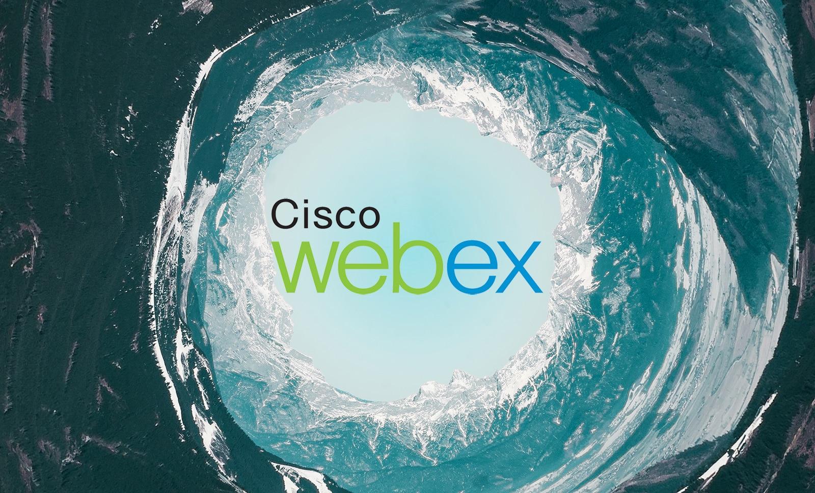 Cisco WebEx Work Header Image