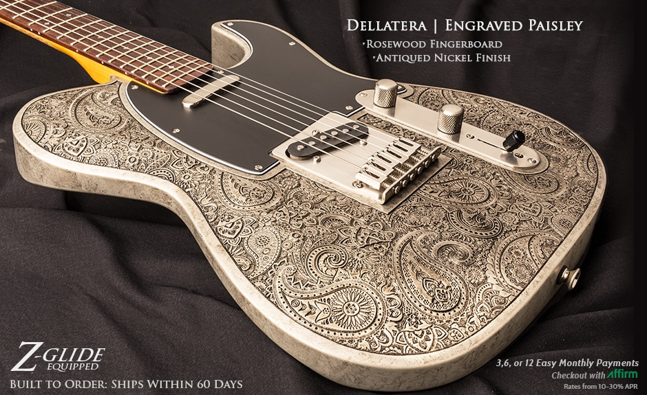 Dellatera Laser Engraved Guitar Article Image
