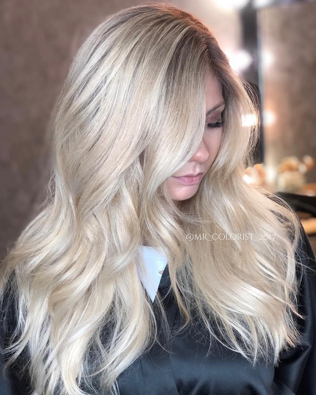 Platinum Blonde Hair Color Article Image 8