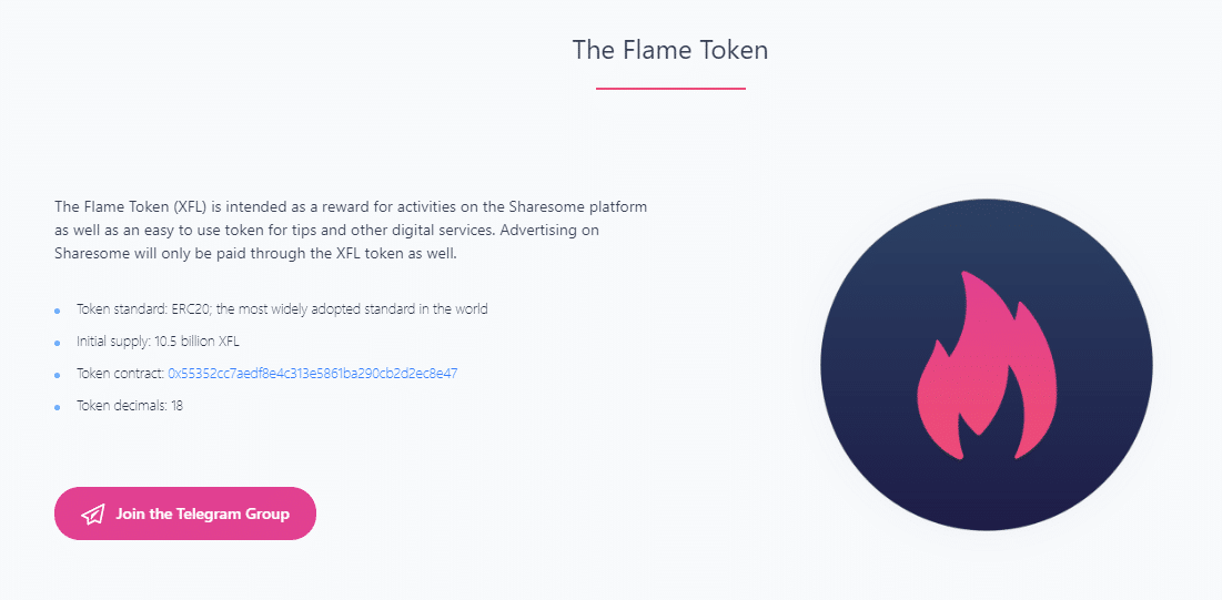 Flame Token Crypto Article Image