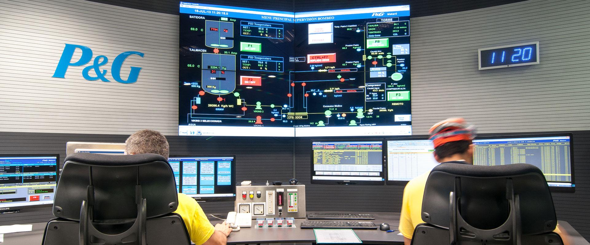 GESAB Control Rooms Desk Header Image