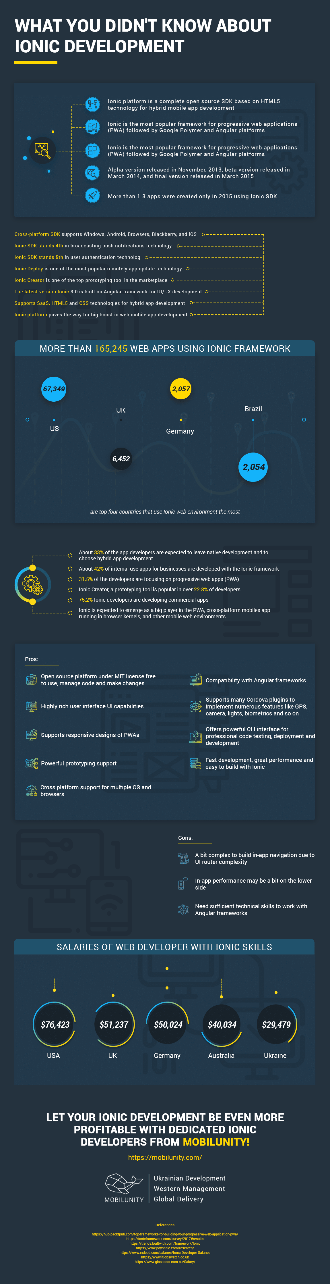 iOnic Development Infographic Article Image