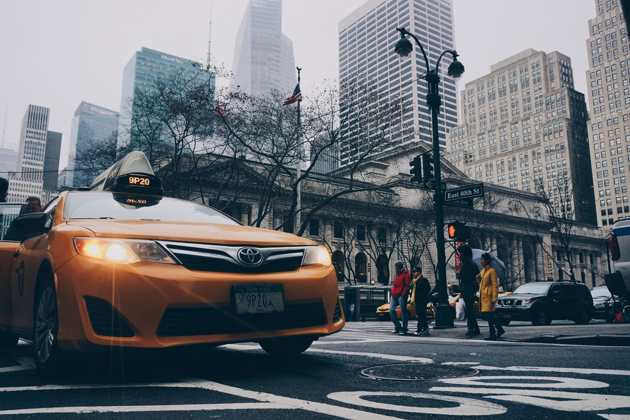 Marketing Taxi Business Header Image