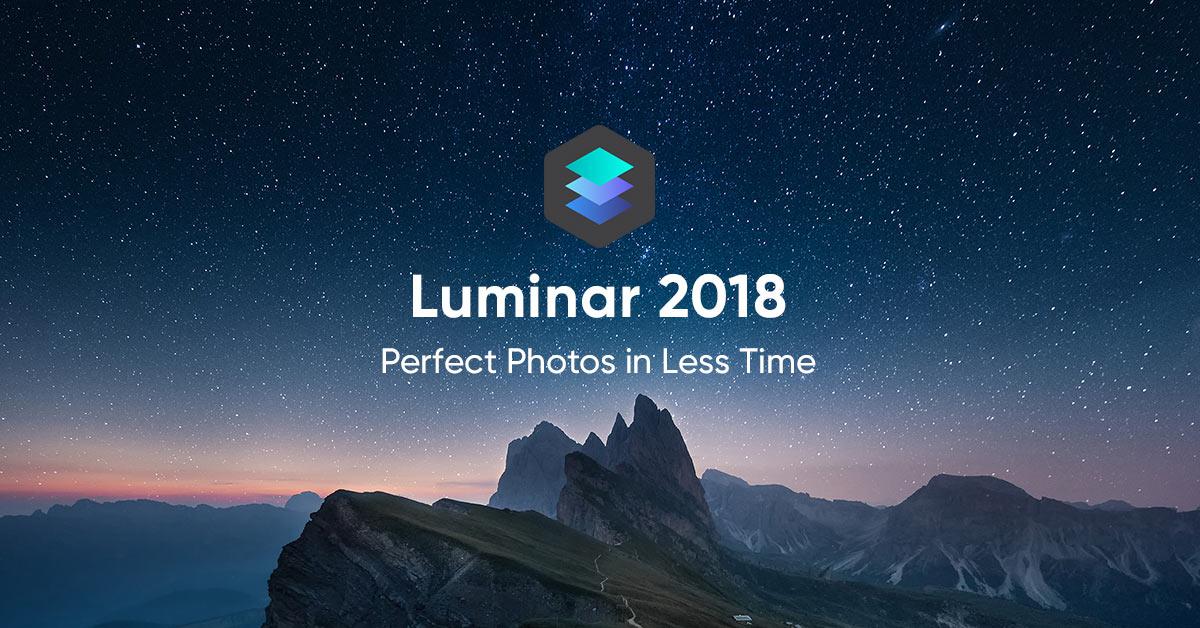 Luminar Photo Editing Header Image
