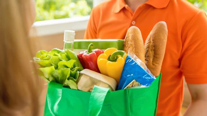 Food Delivered Home Header Image