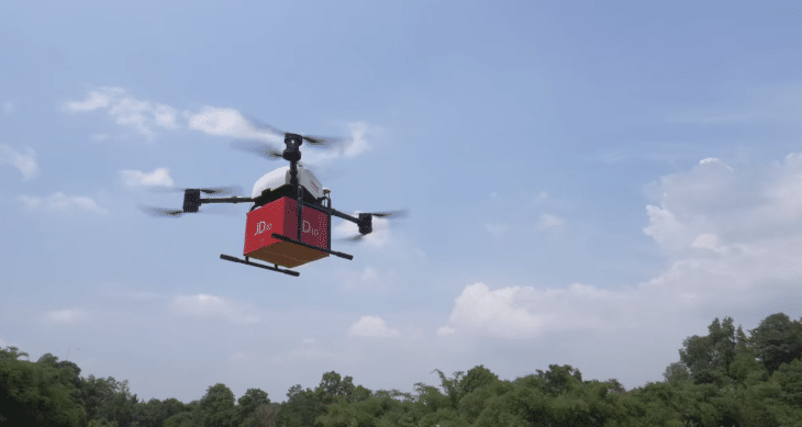 JD Drone Delivery Article Image