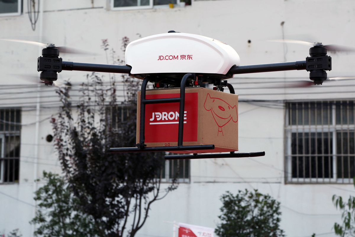JD.com Create History – First Indonesia Drone-Based Delivery Systems Test Run