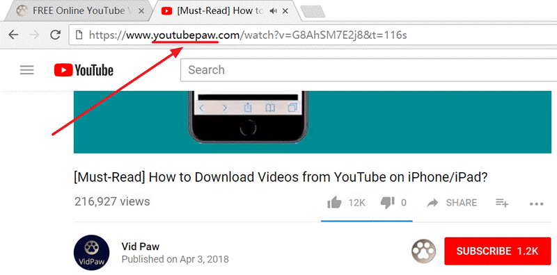VidPaw - 4 Easy Methods To download YouTube Videos To Win