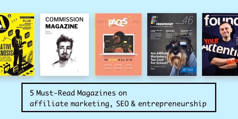 5 Magazines Entrepreneur Affiliate Article Image