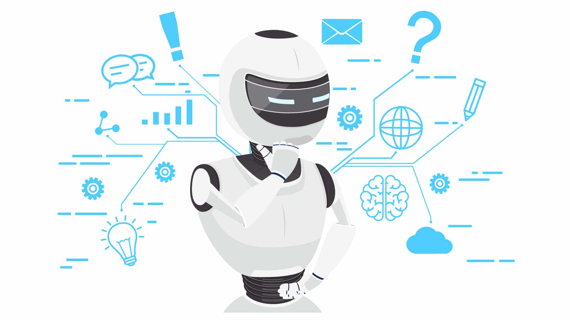 Artificial Intelligence Business Applications Header Image