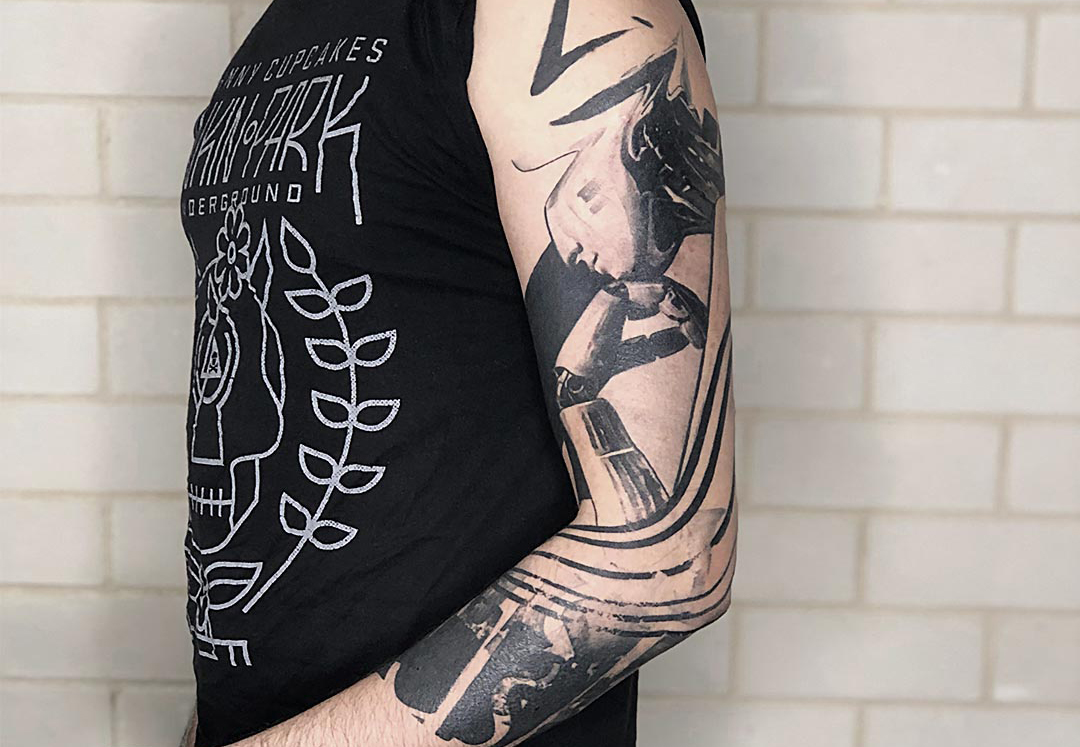 Artem Korobov – How This Tattoo Artist Came To Master Graphic Avantgarde