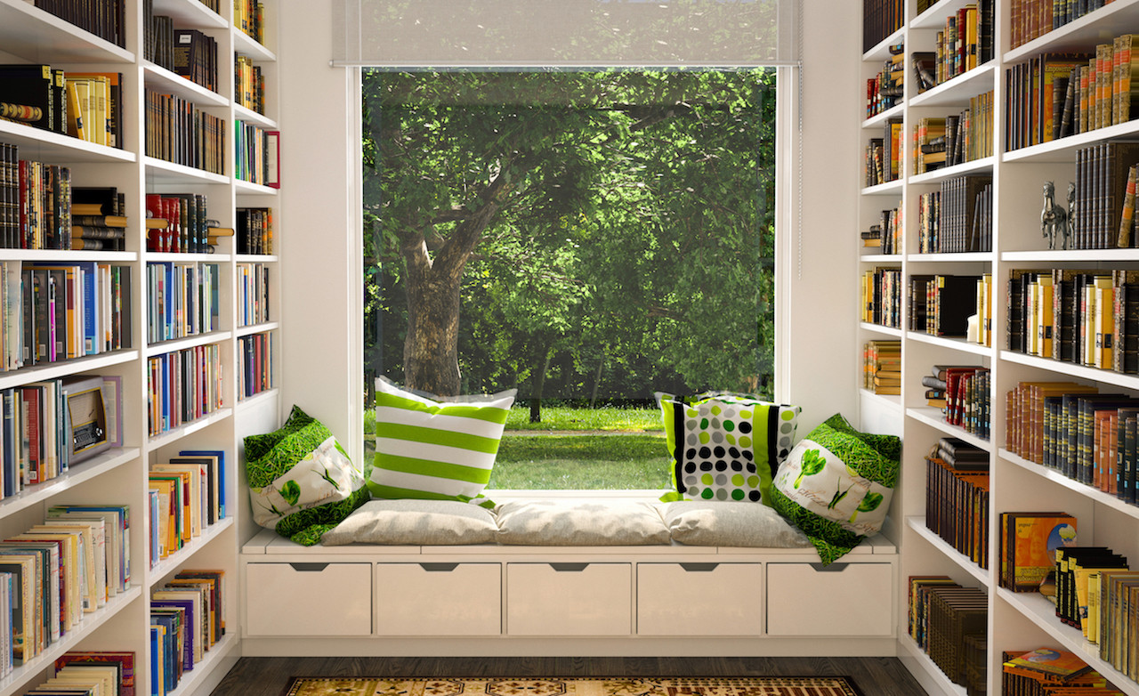 Interior Design Options For Students And Avid Readers