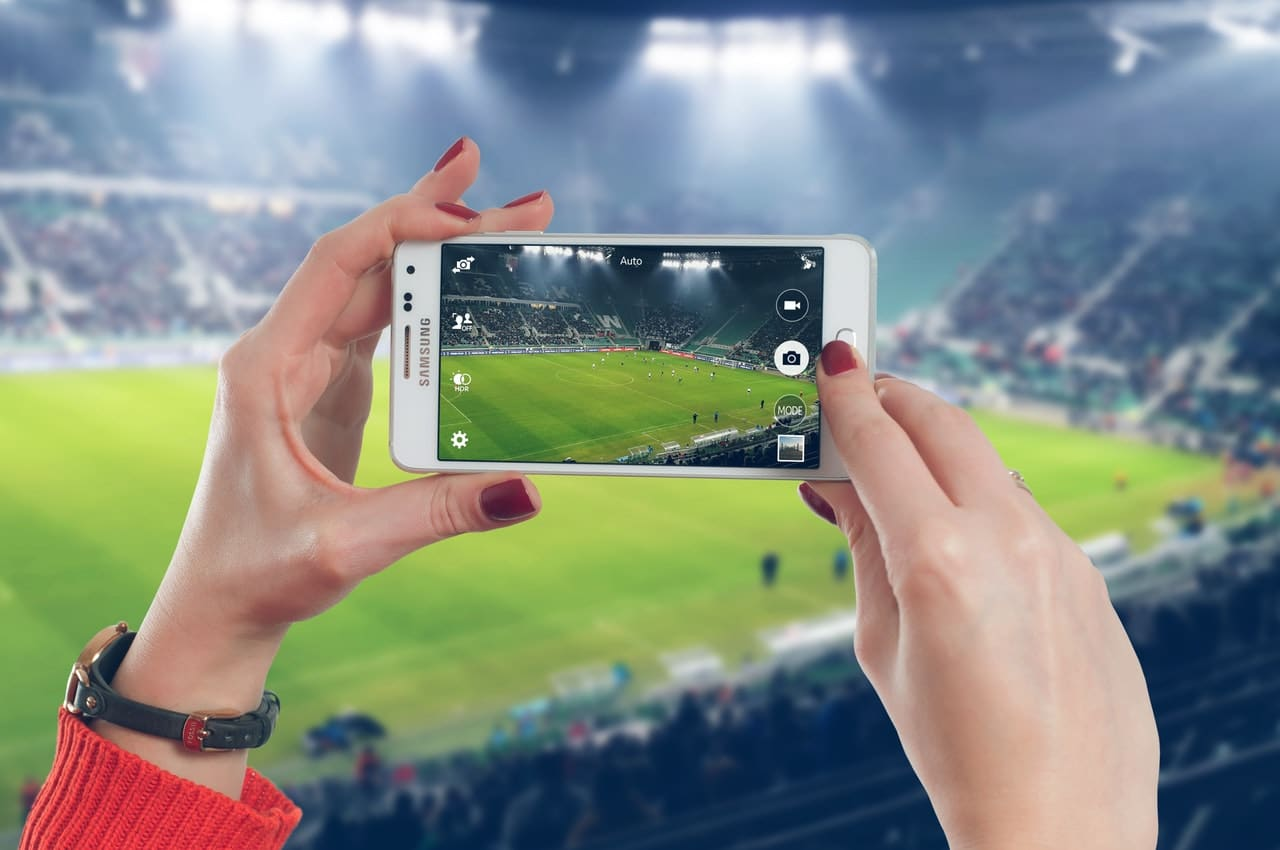 Live Streaming Online Sports Header Image