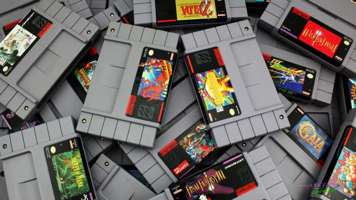 SNES Games Count Header Image