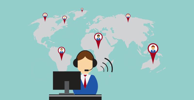 Virtual Call Centers Header Image