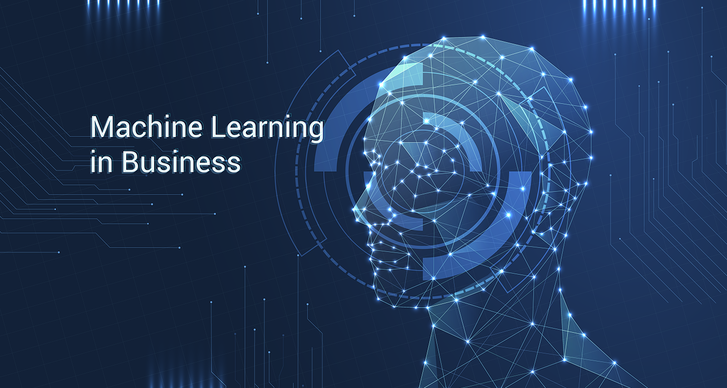 Machine Learning Business Header Image