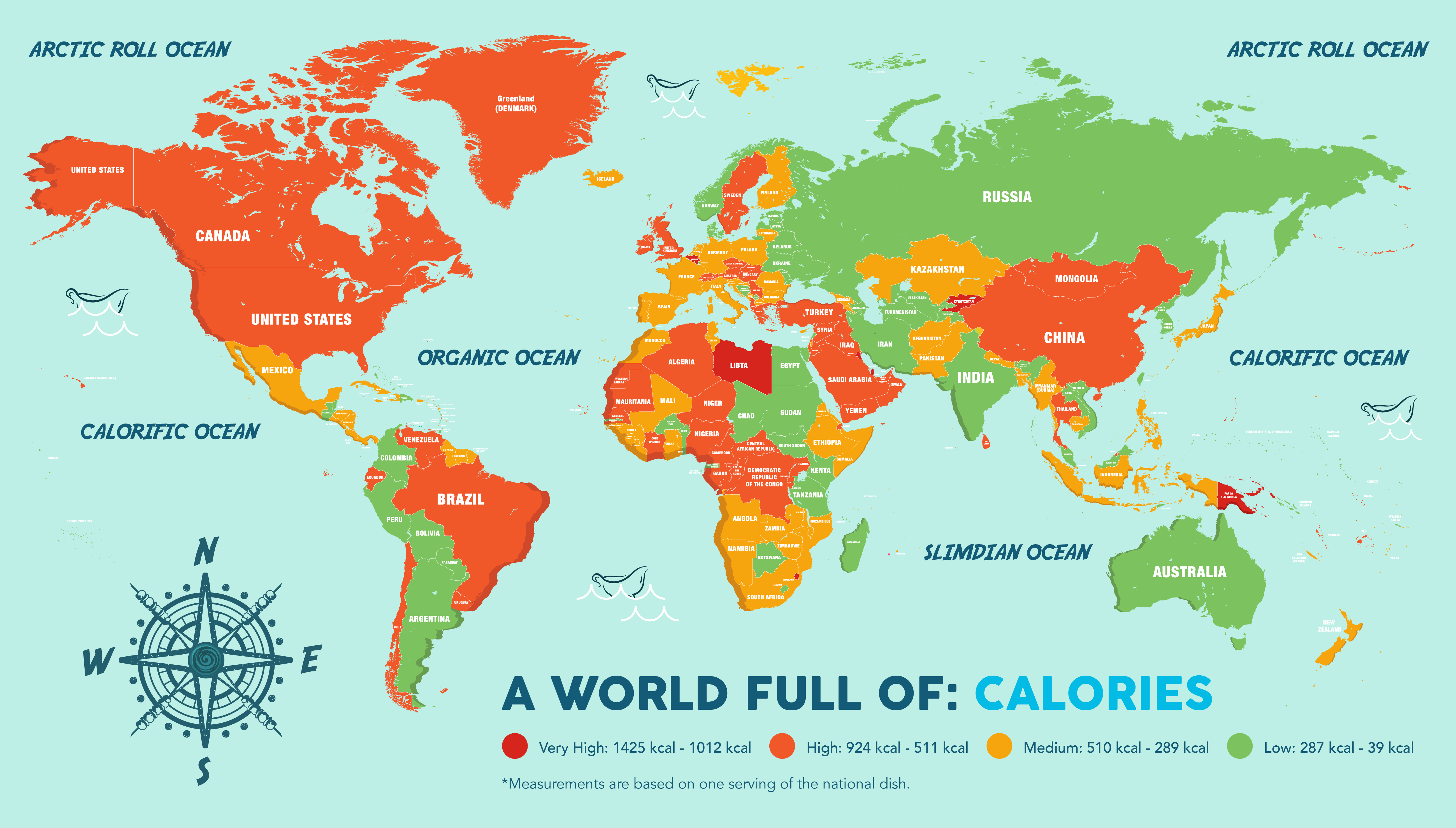 World Food Map Know Your Foods Infographic Bit Rebels