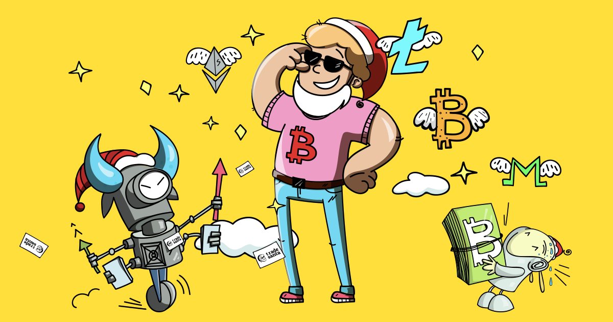 Crypto Trading TradeSanta Bot Header Image