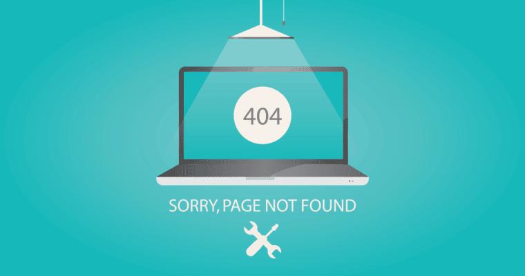 404 Page Sales Header Image