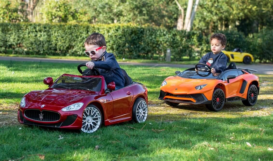 Kid's Electric Car Header Image