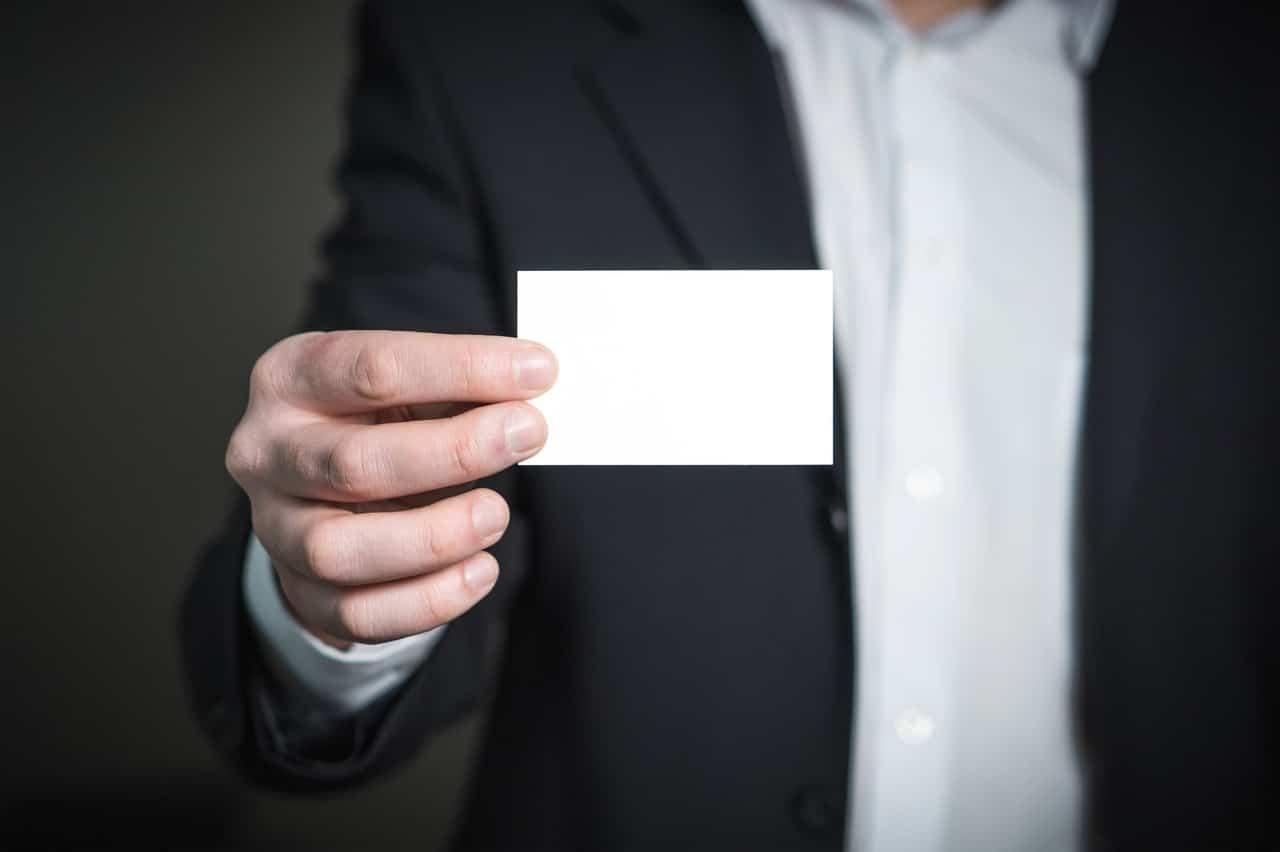 Modern Business Cards Header Image