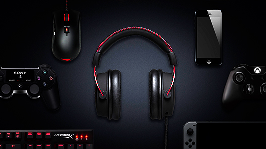HyperX Cloud Alpha Headphones Header Image