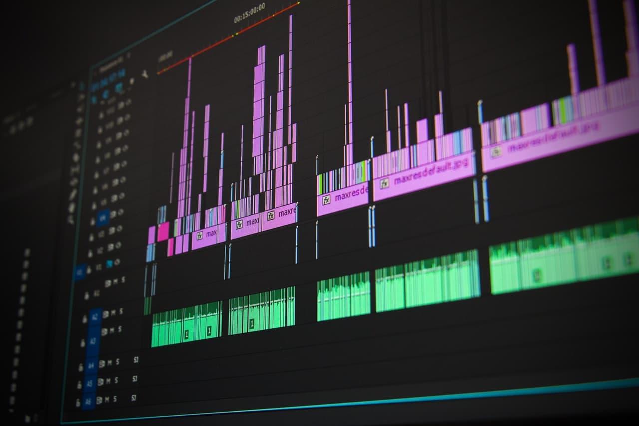 AI Generated Music Header Image
