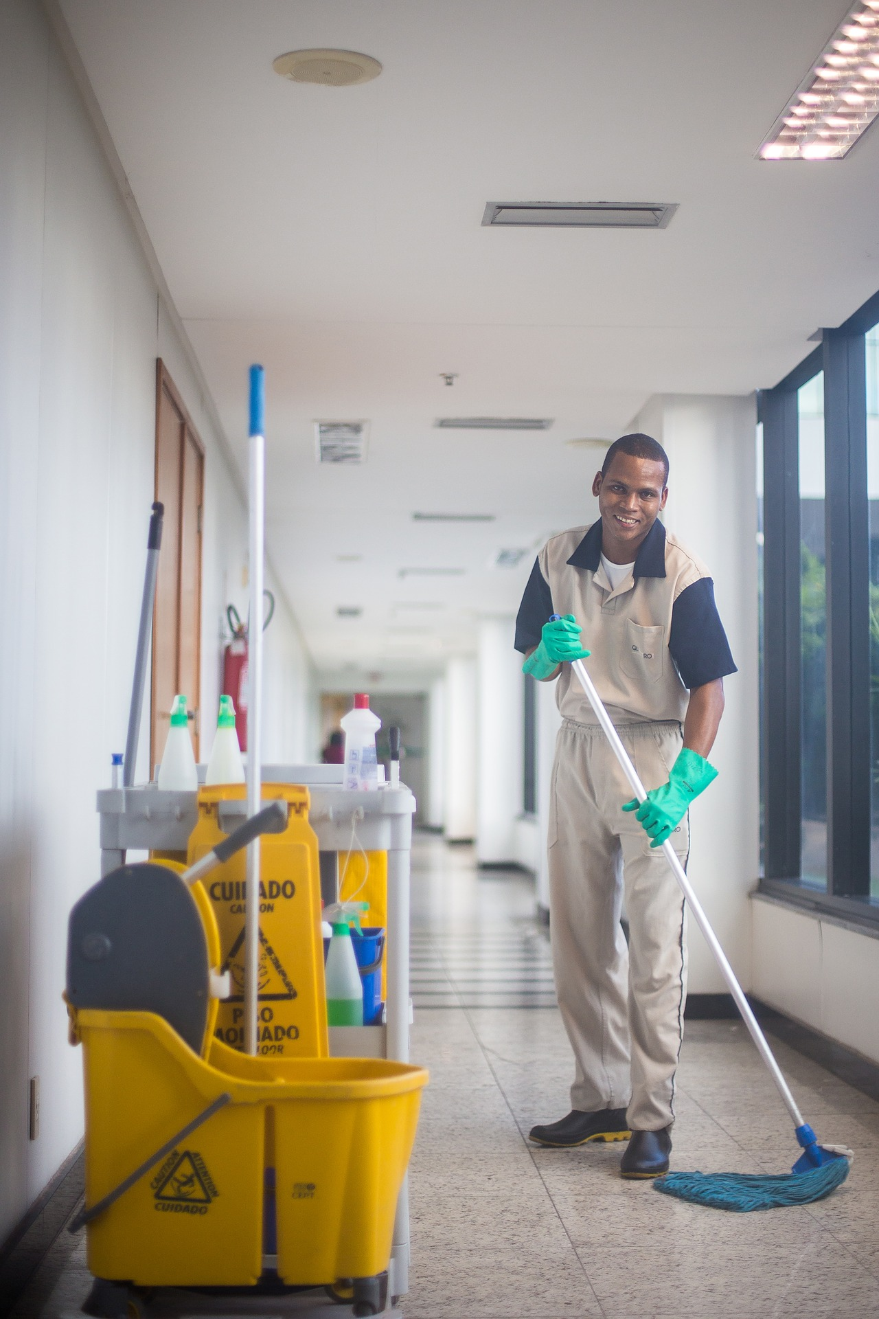 How Hire Cleaning Service Article Image
