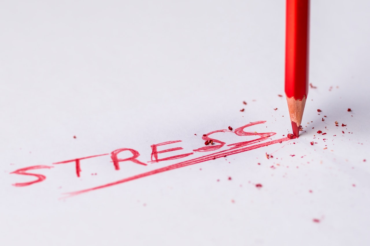 ¨7 Ways Relieve Stress Header Image