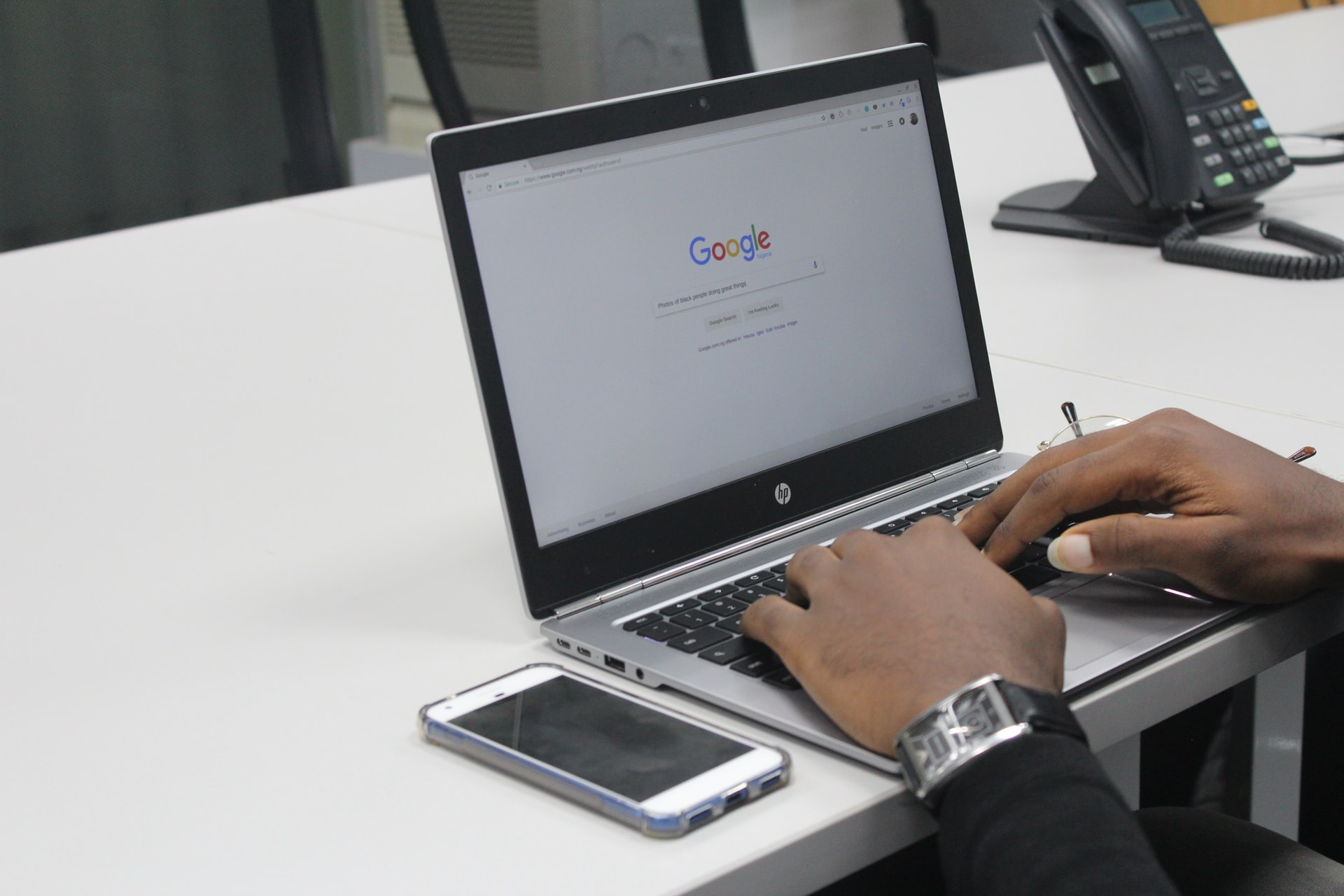 Business Google Search Header Image