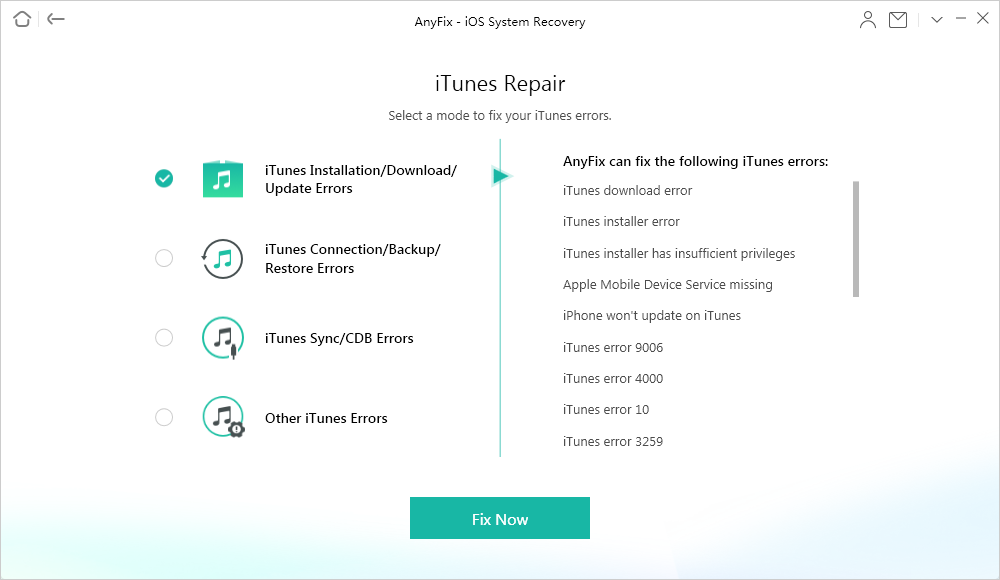 AnyFix iOS System Recovery Article Image 2