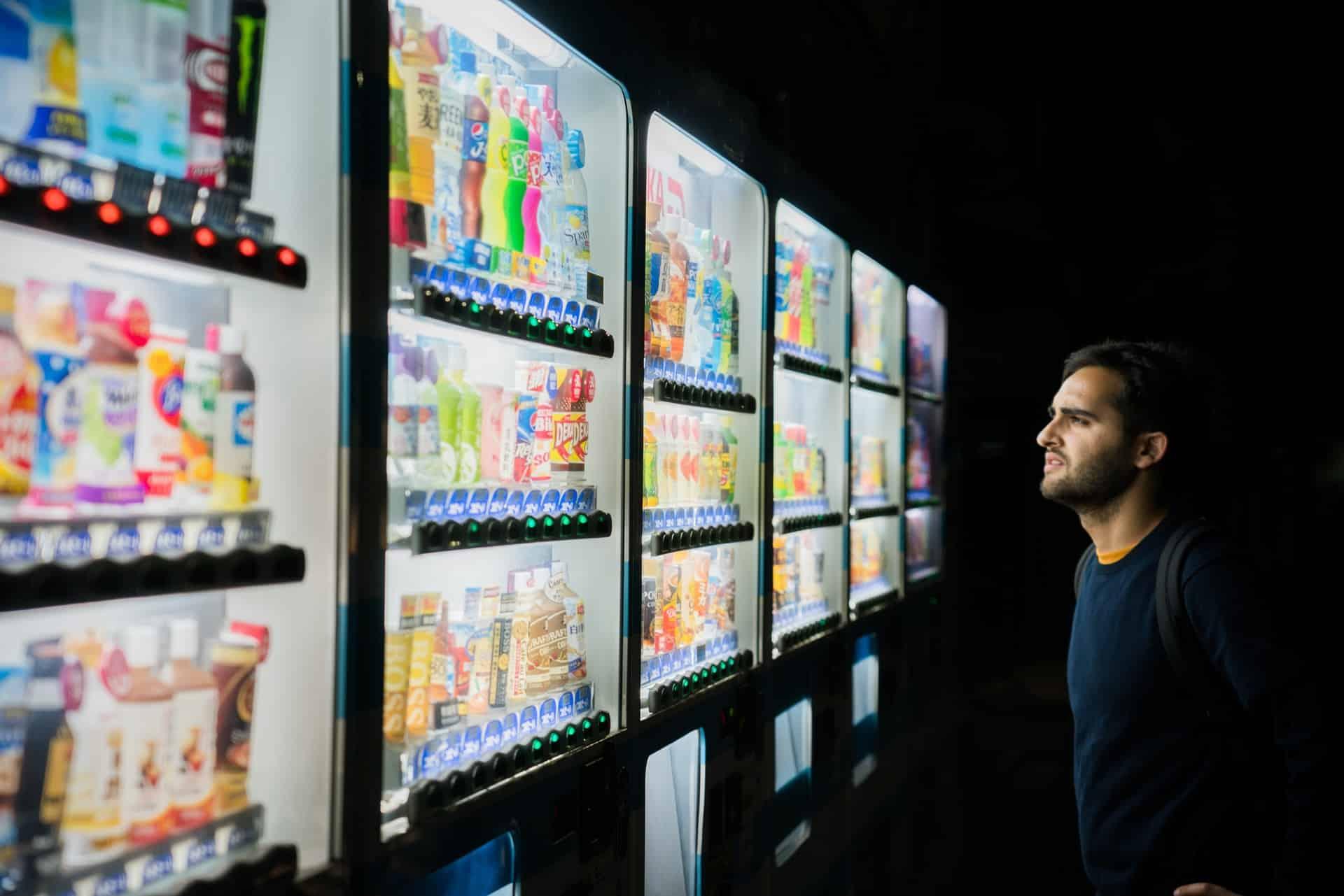 Digital Vending Machine Technology Era Header Image