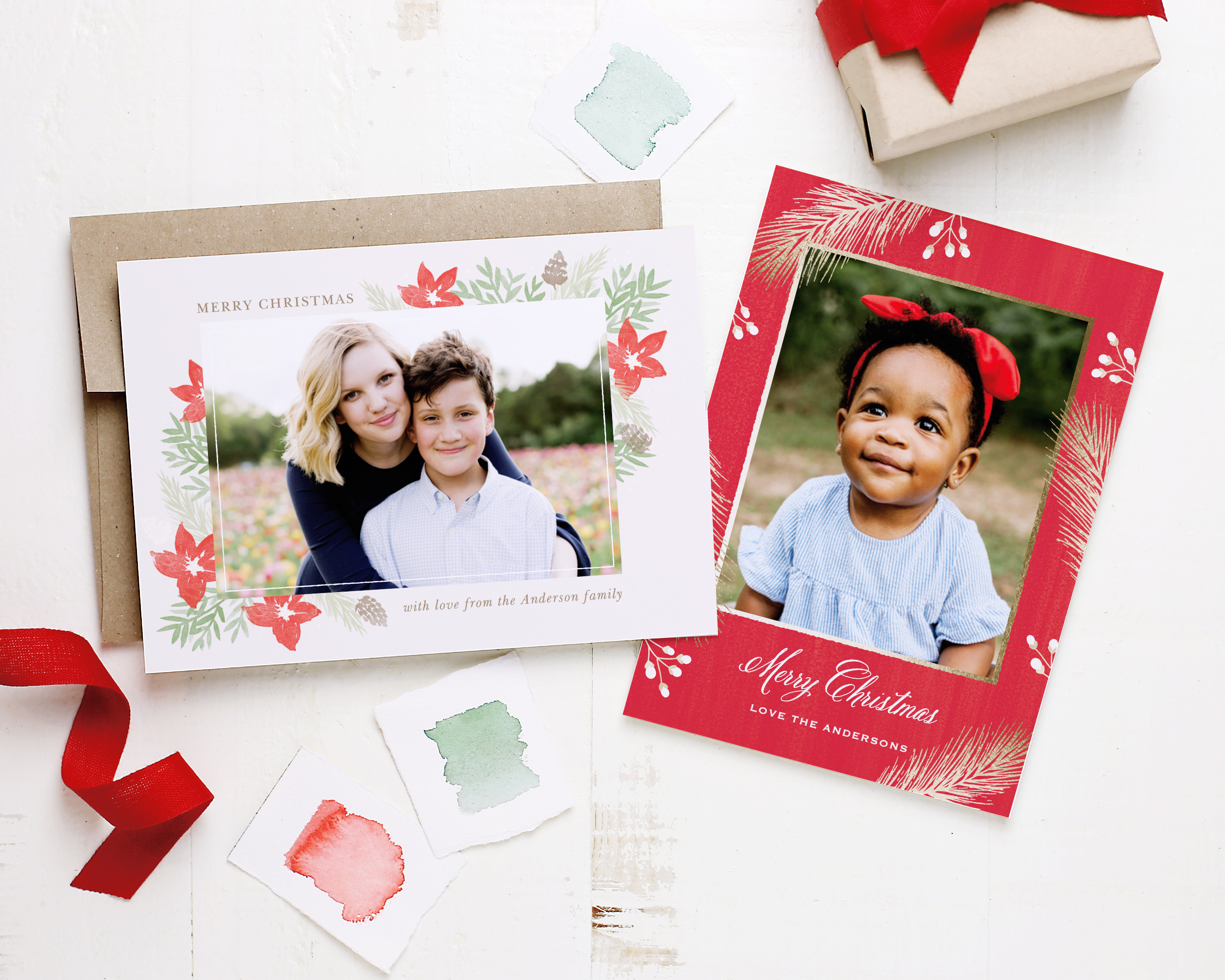Staying Touch Xmas Cards Header Image