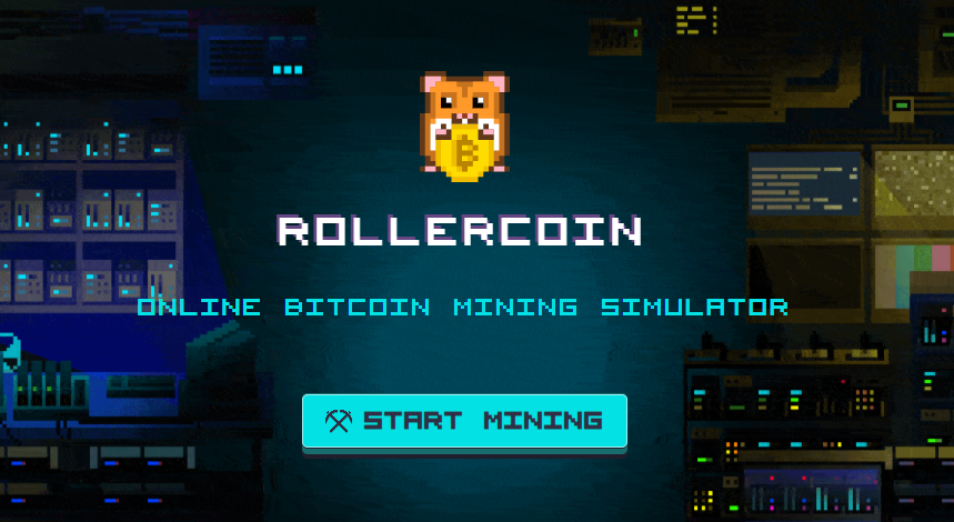 Rollercoin Bitcoin Mining Simulator Header Image