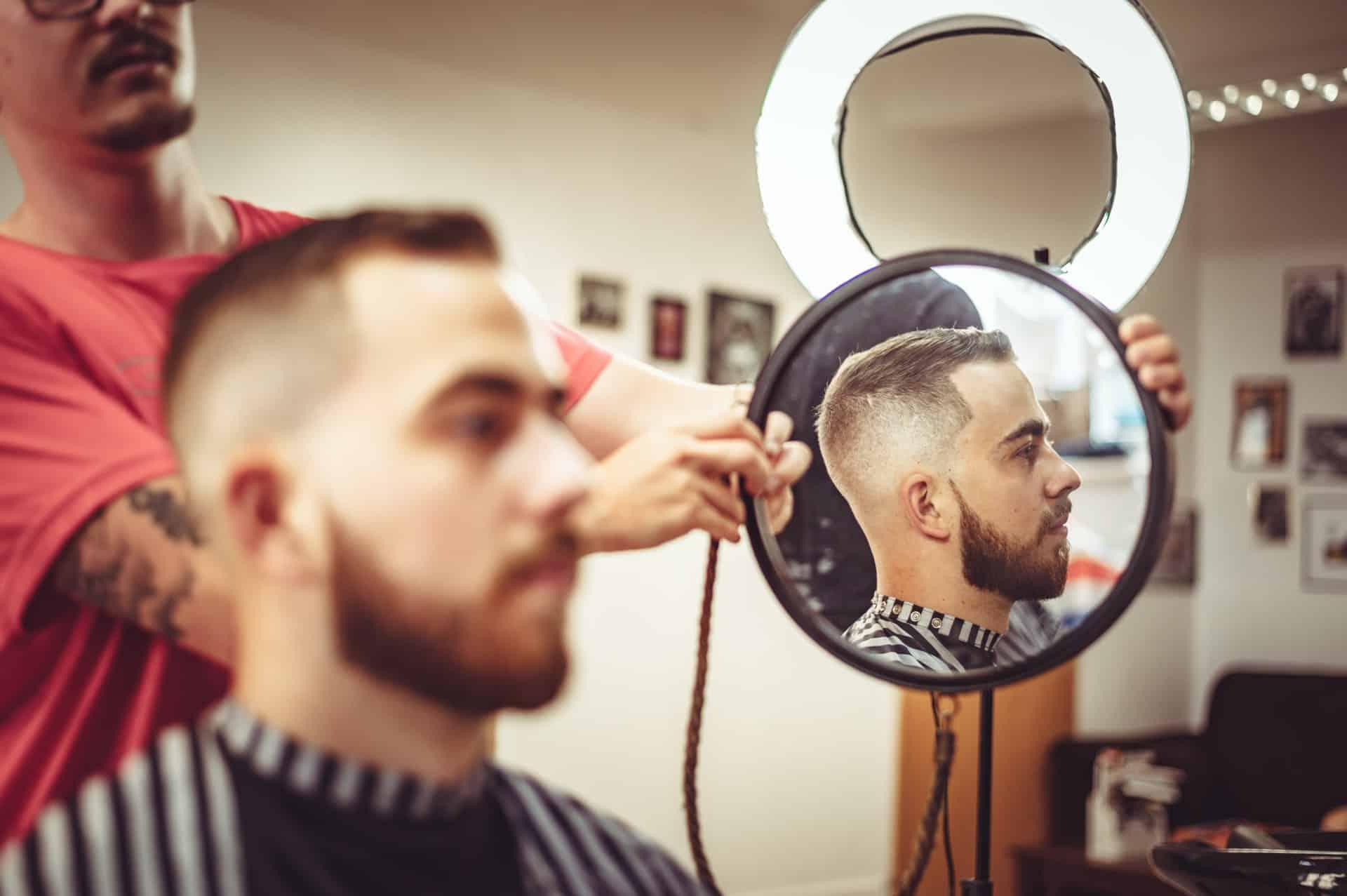 Start Salon Barber Shop Header Image
