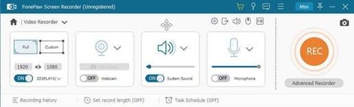 FonePaw Live Stream Recording Software Article Image 4