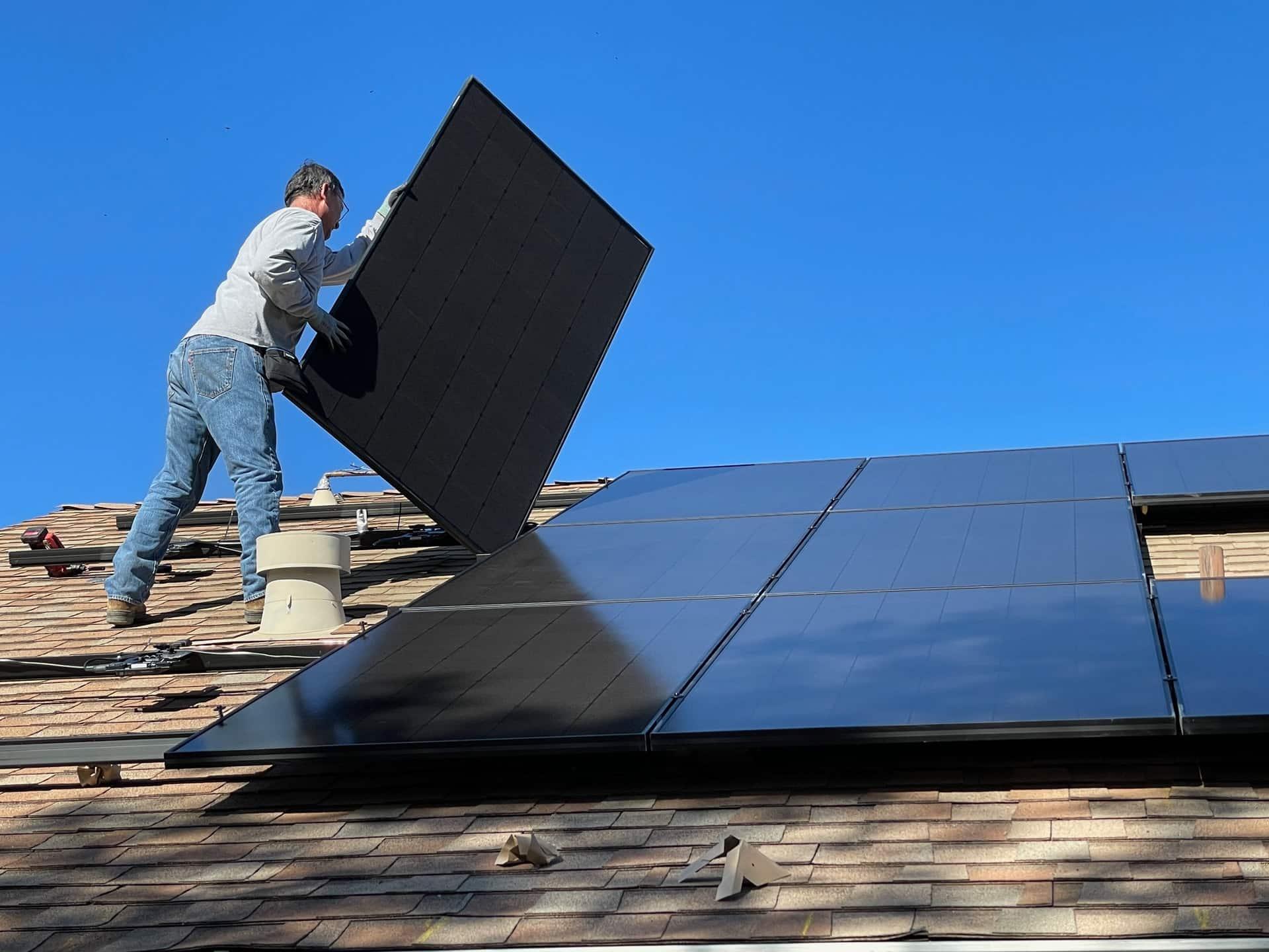 Solar Roof Installation Header Image